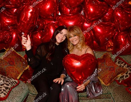 Stock Photo of Liv Tyler and Goldie Hawn