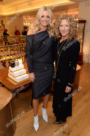 Kelly Hoppen and Tess Daly 'Trust Collection' launch, London