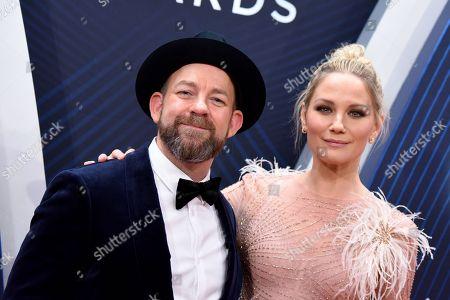 Stock Picture of Sugarland - Kristian Bush and Jennifer Nettles
