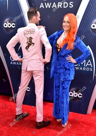 Stock Photo of Tyler Cain and Meghan Linsey