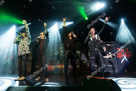 Stock Photo of Michael Schenker Fest - Gary Barden, Graham Bonnet, Doogie White, Robin McAuley, Michael Schenker