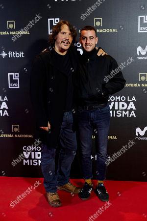 Sergio Peris-Mencheta and Alex Monner