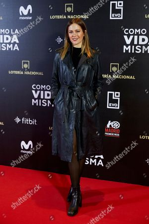 Editorial picture of 'Como la Vida Misma' film premiere, Madrid, Spain - 12 Nov 2018