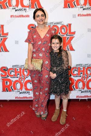 Pia Miranda and Daughter