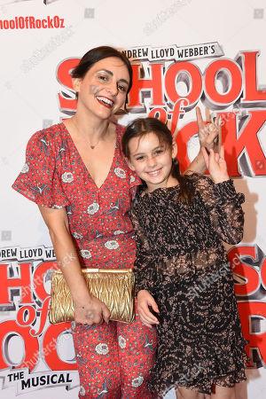 Stock Photo of Pia Miranda and Daughter