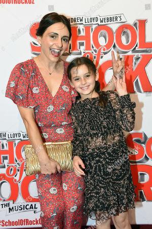 Stock Image of Pia Miranda and Daughter
