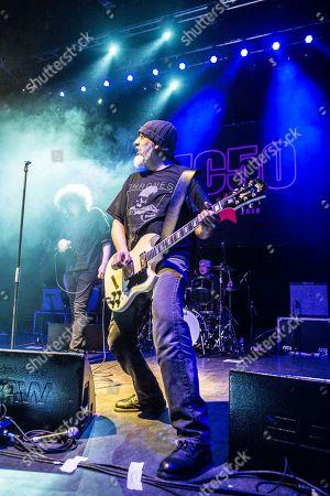 MC50 - Brendan Canty (of Fugazi), Marcus Durant (of Zen Gurilla), Kim Thayil (of Soundgarden),
