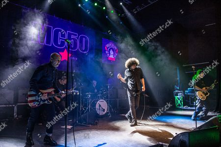MC50 - Wayne Kramer (of MC5), Billy Gould (of Faith No More), Brendan Canty (of Fugazi), Marcus Durant (of Zen Gurilla), Kim Thayil (of Soundgarden),