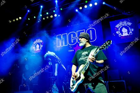 MC50 -Billy Gould (of Faith No More), Brendan Canty (of Fugazi), Marcus Durant (of Zen Gurilla), Kim Thayil (of Soundgarden),