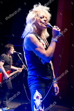Editorial photo of Michael Monroe in concert at the O2 Shepherds Bush Empire, London, UK - 12 Nov 2018
