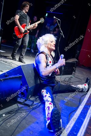 Editorial picture of Michael Monroe in concert at the O2 Shepherds Bush Empire, London, UK - 12 Nov 2018