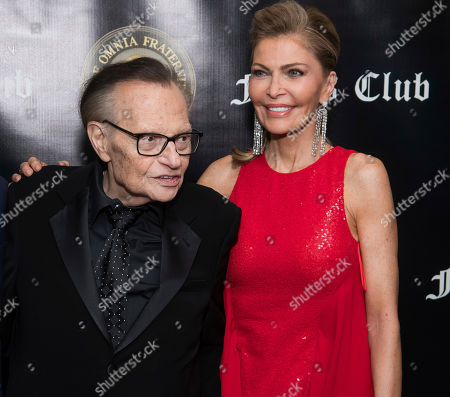 Larry King, Shawn Southwick. Larry King and Shawn Southwick attend the Friars Club Entertainment Icon Award ceremony honoring Billy Crystal at the Ziegfeld Ballroom, in New York