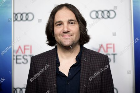 """David Robert Mitchell attends a special screening of """"Under the Silver Lake"""" during the 2018 AFI Fest at the Egyptian Theatre, in Los Angeles"""