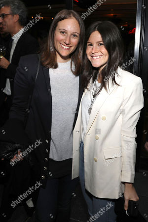 Stock Picture of Allyson Seeger and Alexa Ginsburg (Producers)