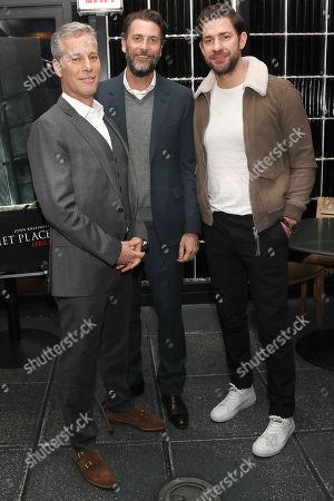 Brad Fuller, Andrew Form (Producers) and John Krasinski