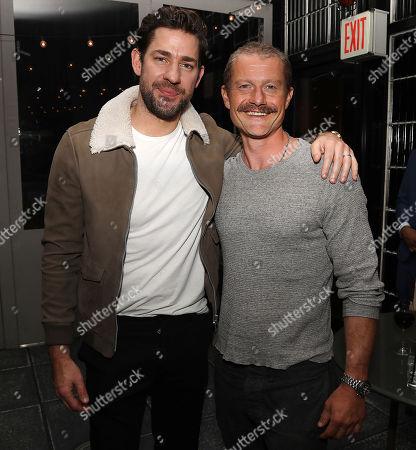 John Krasinski and James Badge Dale