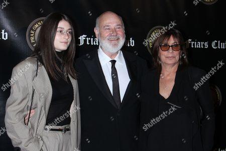 Tracy Reiner, Rob Reiner, Michele Singer