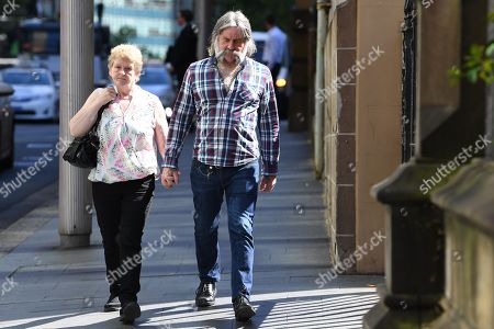 The parents of Cathrina Cahill, Rita Cahill (L) and Daniel Cahill (R) arrive for her sentence hearing at the Supreme Court in Sydney, New South Wales, Australia, 13 November 2018. Cathrina Cahill, 27, an Irish national, has pleaded guilty to the manslaughter of her fiancee, David Walsh, 29, also from Ireland. Walsh, father-of-three girls, died from a neck wound sustained at the couple's home in February last year.