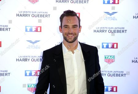 Editorial image of 'The Truth About The Harry Quebert Affair' preview, Paris, France - 12 Nov 2018