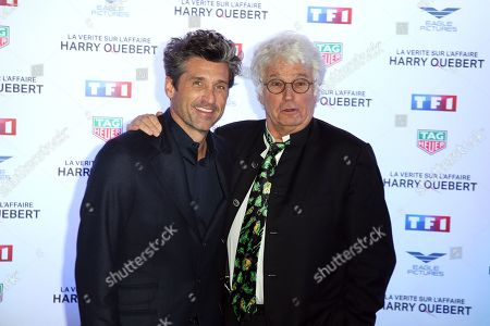 Stock Photo of Patrick Dempsey, Jean-Jacques Annaud