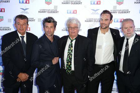 Tarack Ben Ammar, Patrick Dempsey, Jean-Jacques Annaud, Joel Dicker, guest
