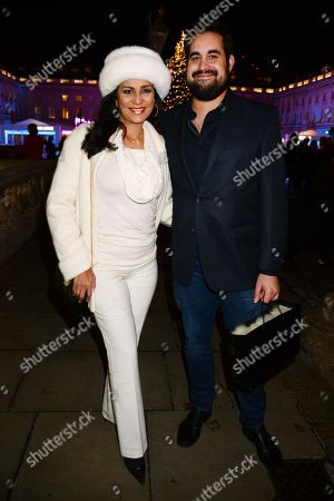 Stock Picture of Wilnelia Merced and Jonathan Joseph Forsyth
