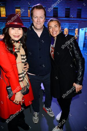 Ching He Huang, Tom Parker Bowles and Assia Webster