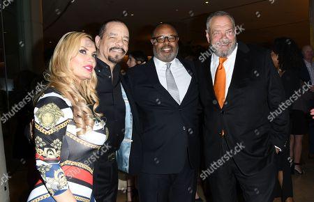 Nicole Coco Austin, Ice-T, Dick Wolf
