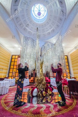 Sketch's annual Christmas installations, London