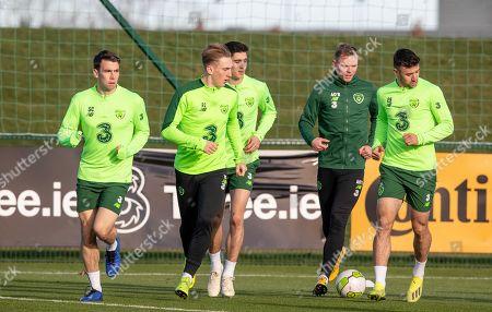 Editorial picture of Republic of Ireland Squad Training, FAI National Training Centre, Dublin  - 13 Nov 2018