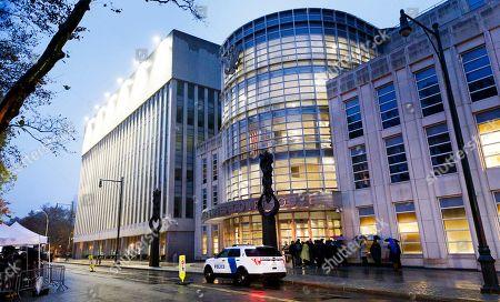 Joaquin El Chapo Guzman trial New York Stockfotos (Exklusiv