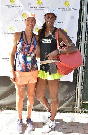 Brenda Schultz McCarthy and Lisa Leslie