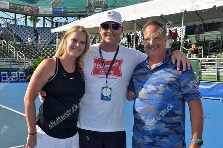 Editorial image of Chris Evert and Raymond James Pro-Celebrity Tennis Classic, Delray Beach, Florida, USA - 11 Nov 2018