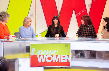 Ruth Langsford, Linda Robson, Jennifer Metcalfe, Janet Street-Porter and Stacey Solomon