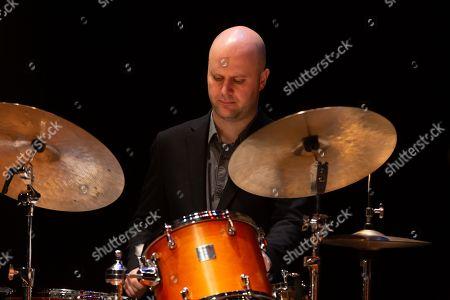 Stock Image of Stacey Kent - Matt Skelton, drums