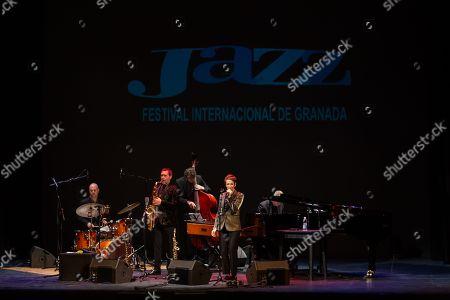Stacey Kent, Jim Tomlinson, saxophone. Graham Harvey, piano. Jeremy Brown, bass. Matt Skelton, drums
