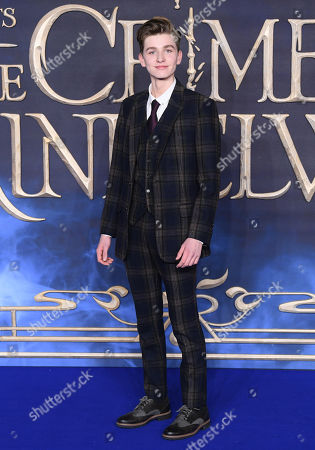 Editorial photo of 'Fantastic Beasts: The Crimes of Grindelwald' film premiere, London, UK - 13 Nov 2018