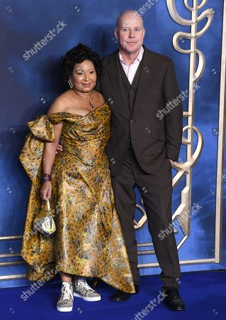 Stock Picture of David Yates and Yvonne Walcott