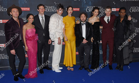 Jude Law, Zoe Kravitz, Callum Turner, Ezra Miller, Katherine Waterston, Dan Fogler, Claudia Kim, Eddie Redmayne and William Nadylam