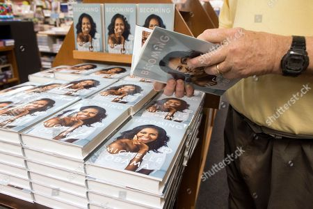 Editorial photo of A memoir by former US First Lady Michelle Obama entitled 'Becoming' released, Washington, USA - 13 Nov 2018