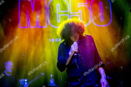 Stock Image of MC50 -Billy Gould (of Faith No More), Marcus Durant (of Zen Gurilla)