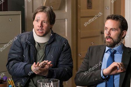 Ike Barinholtz as Morgan Tookers and Garret Dillahunt as Jody Kimball-Kinney
