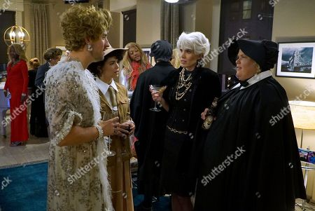 Ed Weeks as J Reed, Rebecca Rittenhouse as Anna, Tipper Newton as Karen and Fortune Feimster as Colette Kimball-Kinney