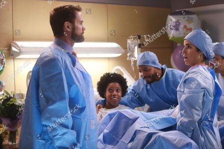 Garret Dillahunt as Jody Kimball-Kinney and Ana Ortiz as Dr. Mary Hernandez