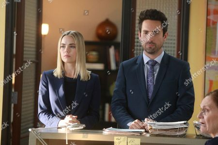Rebecca Rittenhouse as Anna and Ed Weeks as J Reed