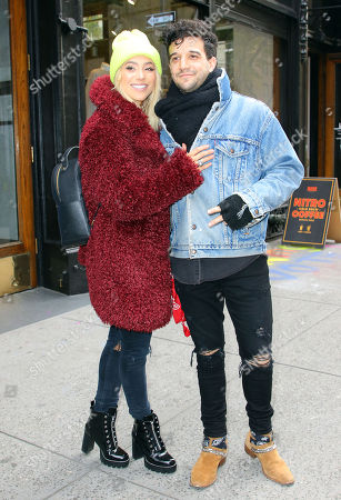 Editorial photo of Mark Ballas and BC Jean out and about, New York, USA - 12 Nov 2018