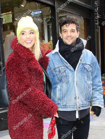 Editorial picture of Mark Ballas and BC Jean out and about, New York, USA - 12 Nov 2018
