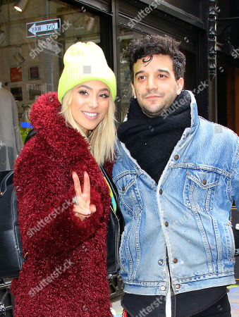 Editorial image of Mark Ballas and BC Jean out and about, New York, USA - 12 Nov 2018