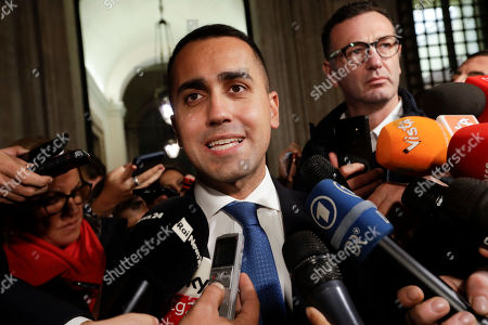 Italian budget press conference
