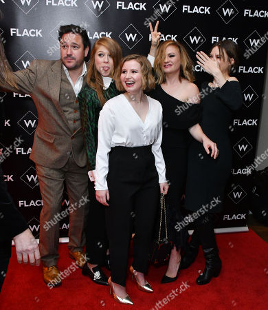 Editorial image of 'Flack' TV show premiere, London, UK - 13 Nov 2018